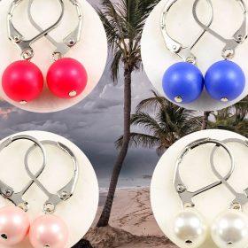 Shell Pearl fülbevalók