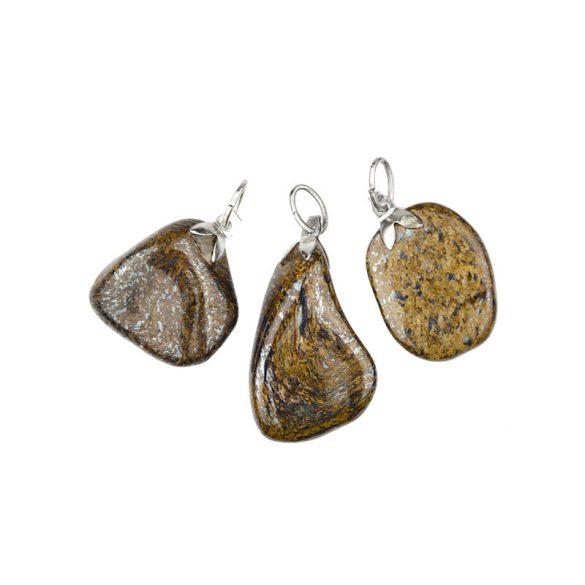 Ásvány medál, zizi, bronzit (2)