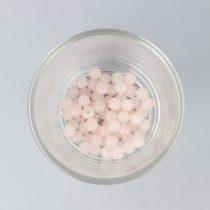 Rózsakvarc golyó, 6 mm