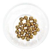 Hematit golyó, arany, 8 mm
