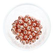 Hematit golyó, rosegold, 8 mm
