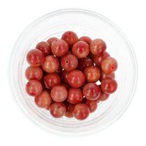 Bambuszkorall golyó, 10 mm, piros