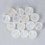 Hegyikristály matt golyó, 10 mm