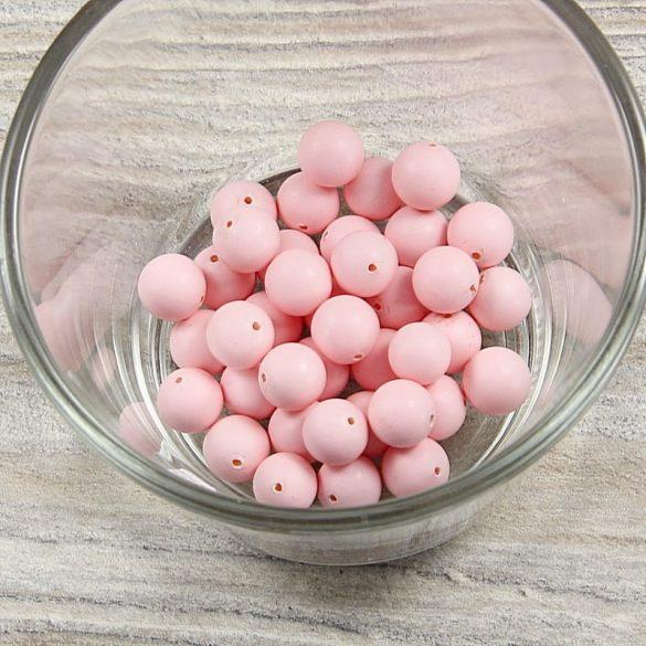 Shell Pearl rózsaszín matt golyó, 8 mm