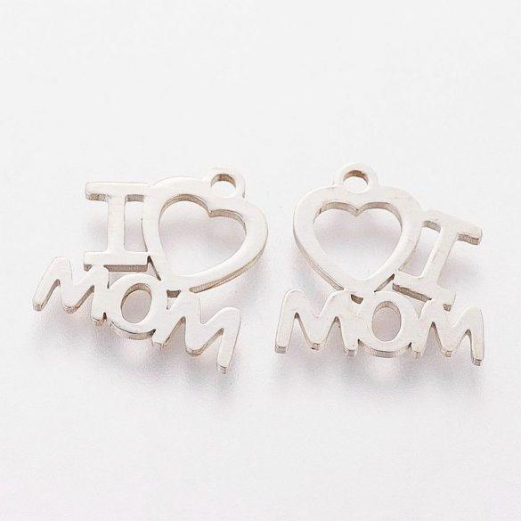 Nemesacél, I love Mom medál (5 db)