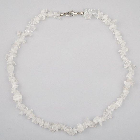 Hegyikristály, törmelékköves, 40 cm-es nyaklánc