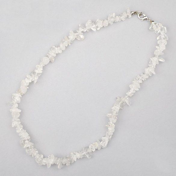 Hegyikristály, törmelékköves, 50 cm-es nyaklánc