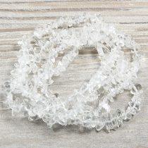 Hegyikristály, törmelékköves alapanyagszál, kb. 85 cm