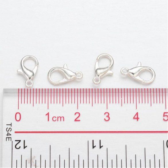 Karabíner, 12 mm (Ag szín) (5 db)
