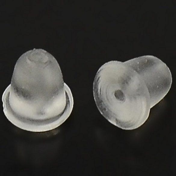 Fülbevaló hátlap, műanyag (10 db)