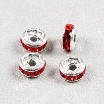 Rondella, 4 mm, piros (10 db)