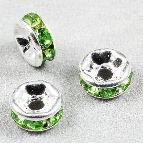 Rondella, 6 mm, zöld (5 db)