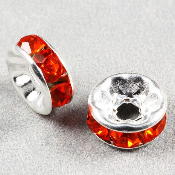 Rondella, 8 mm, piros (5 db)