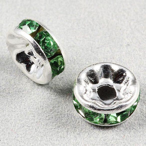 Rondella, 8 mm, zöld (5 db)