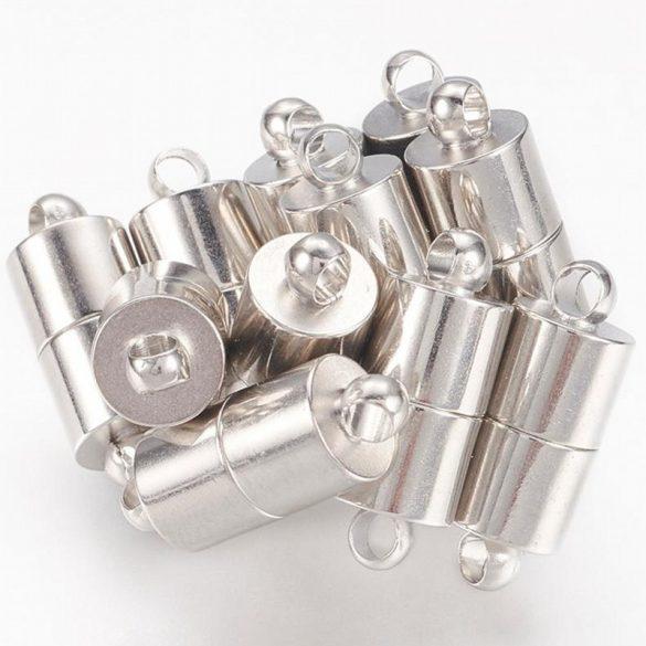 Mágneskapocs, hengeres, kb. 15 mm (5 db)
