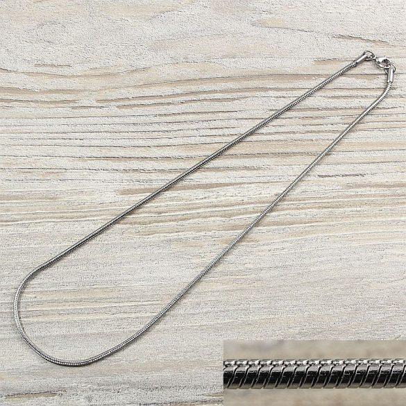 Nemesacél kígyólánc, kb. 45 cm, 2 mm vastag (1 db)