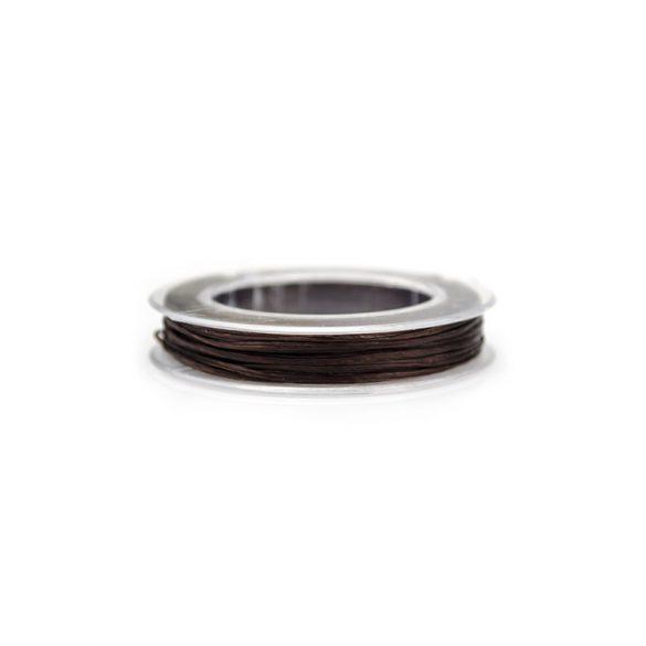 Gumidamil, szálas, barna, 0,8 mm (kb. 10 m)
