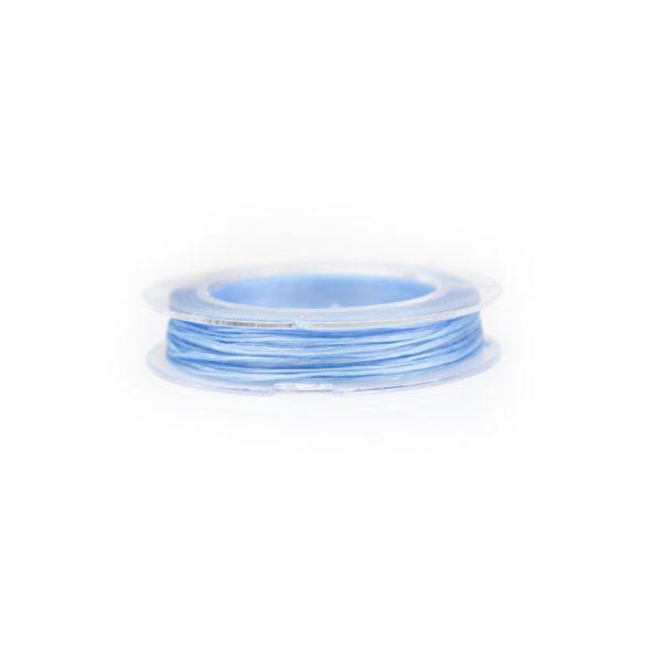 Gumidamil, szálas, kék, 0,8 mm (kb. 10 m)