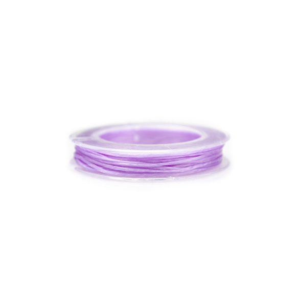 Gumidamil, szálas, lila, 0,8 mm (kb. 10 m)