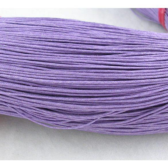 Kordszál, világos lila, kb. 85 m