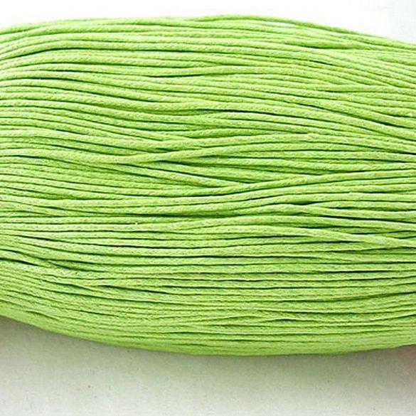 Kordszál, világos zöld, kb. 85 m