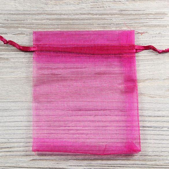 Tasak, tüll, kb. 10x12 cm, pink