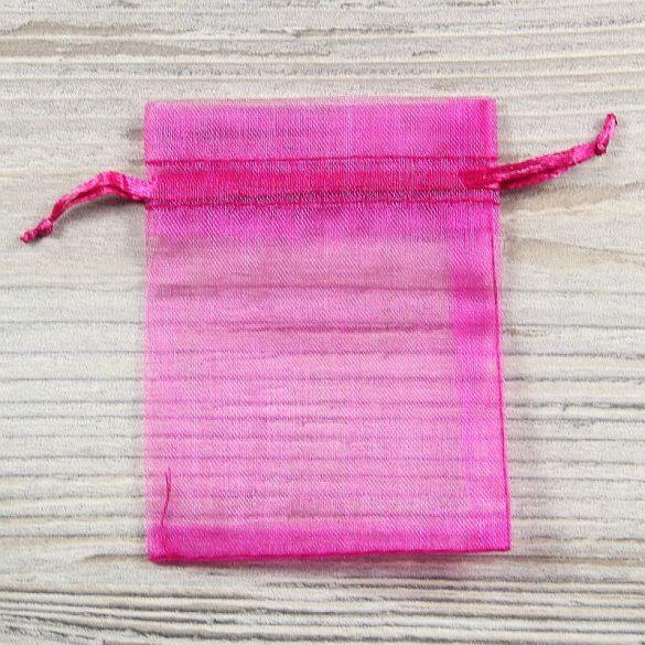 Tasak, tüll, kb. 7x9 cm, pink