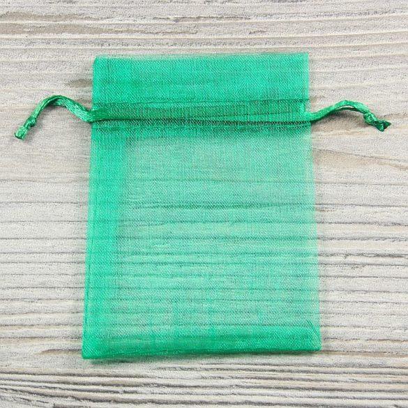 Tasak, tüll, kb. 7x9 cm, sötétzöld