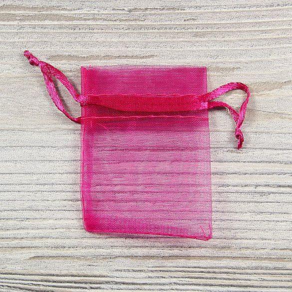 Tasak, tüll, kb. 5x7 cm, pink
