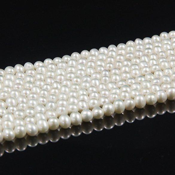 Potátó, fehér alapanyagszál, 5,5-6 mm, kb. 40 cm (AA)