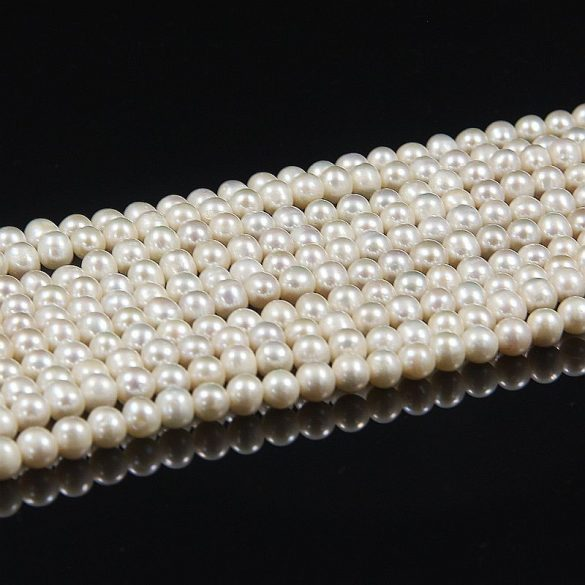Potátó, fehér alapanyagszál, 5-6 mm, kb. 40 cm