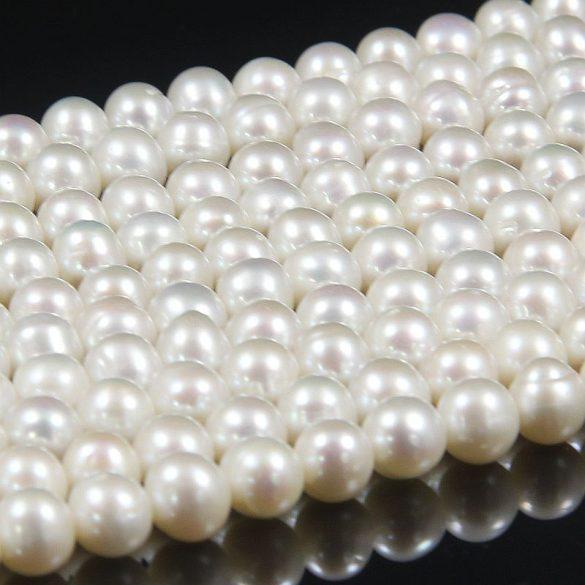 Potátó, fehér alapanyagszál, 6,5-7 mm, kb. 40 cm (AA)