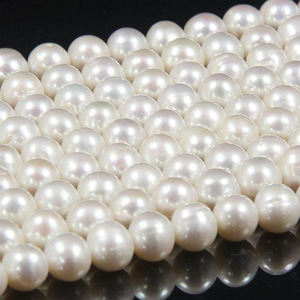 Potátó, fehér alapanyagszál, 7,5-8 mm, kb. 40 cm (AA)