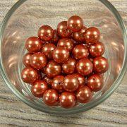 Shell pearl barna golyó, 10 mm