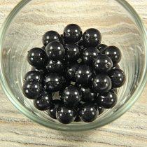 Shell pearl fekete golyó, 10 mm