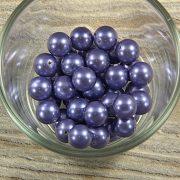 Shell pearl szürkéskék golyó, 10 mm