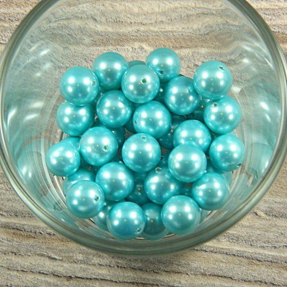 Shell pearl világoskék golyó, 10 mm