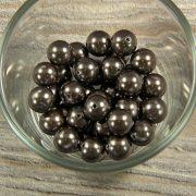 Shell pearl barnásszürke golyó, 10 mm