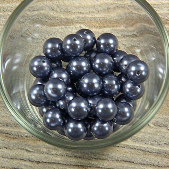 Shell pearl sötétszürke golyó, 10 mm