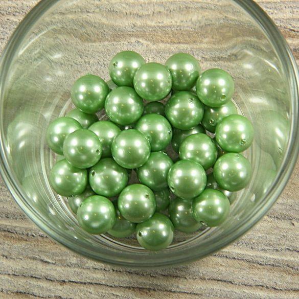 Shell pearl zöld golyó, 10 mm