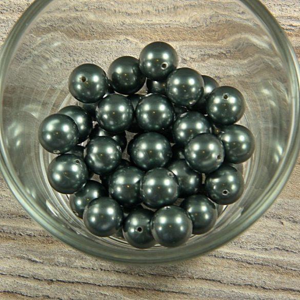 Shell pearl olajzöld golyó, 10 mm