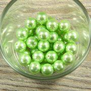 Shell pearl világoszöld golyó, 10 mm