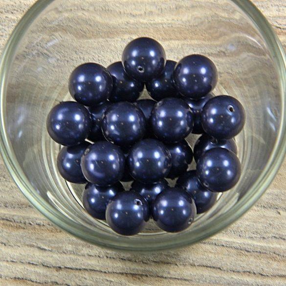 Shell pearl sötétkék golyó, 12 mm