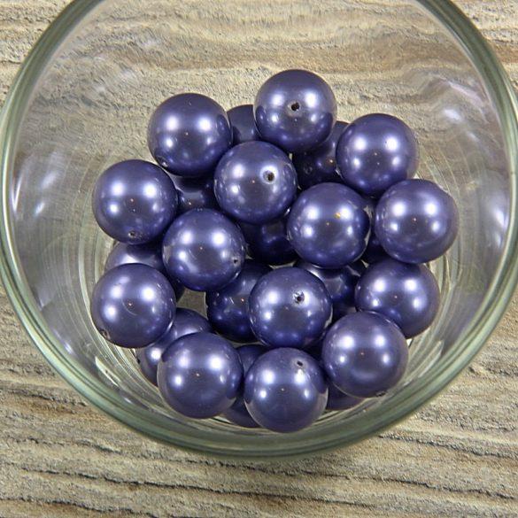 Shell pearl szürkéskék golyó, 12 mm