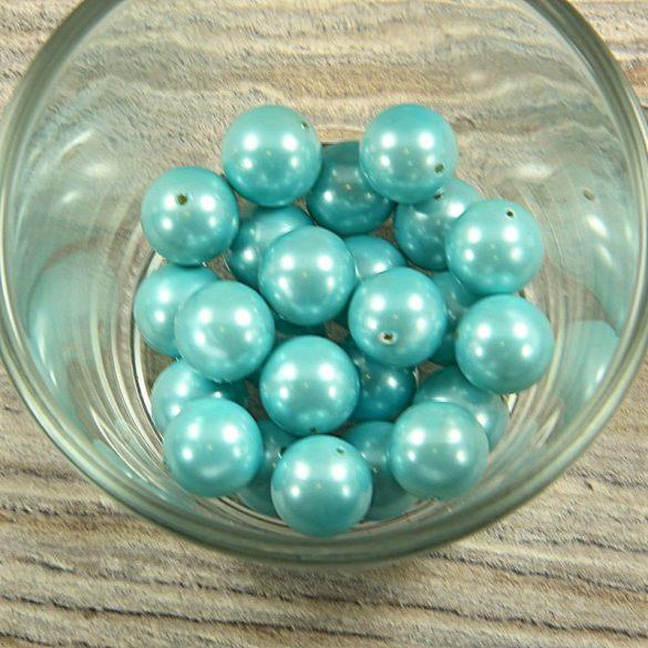 Shell pearl világoskék golyó, 12 mm