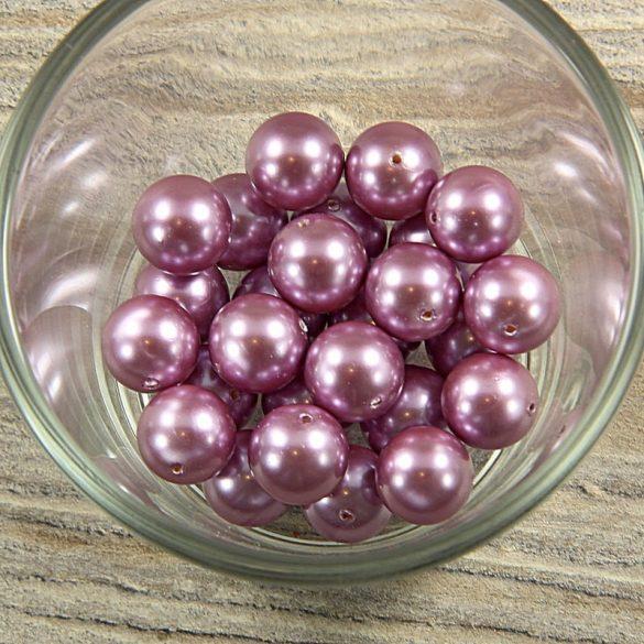 Shell pearl világoslila golyó, 12 mm