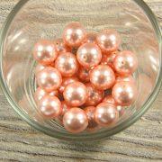 Shell pearl rózsaszín golyó, 12 mm