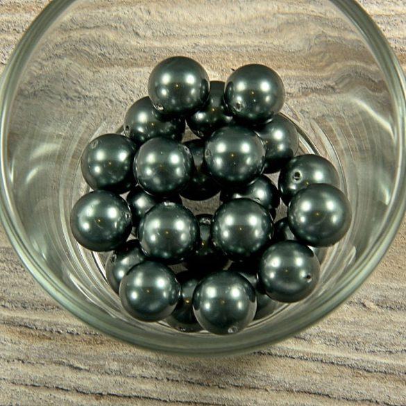 Shell pearl olajzöld golyó, 12 mm