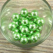 Shell pearl világoszöld golyó, 12 mm
