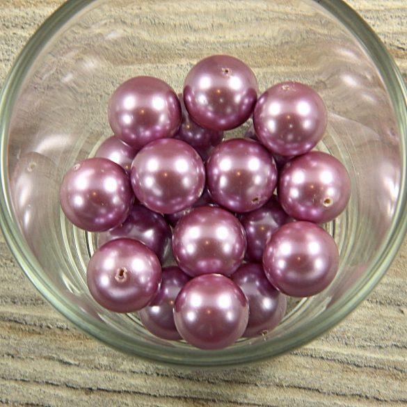 Shell pearl világoslila golyó, 14 mm